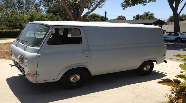 The History of Ford Transit Van Parts