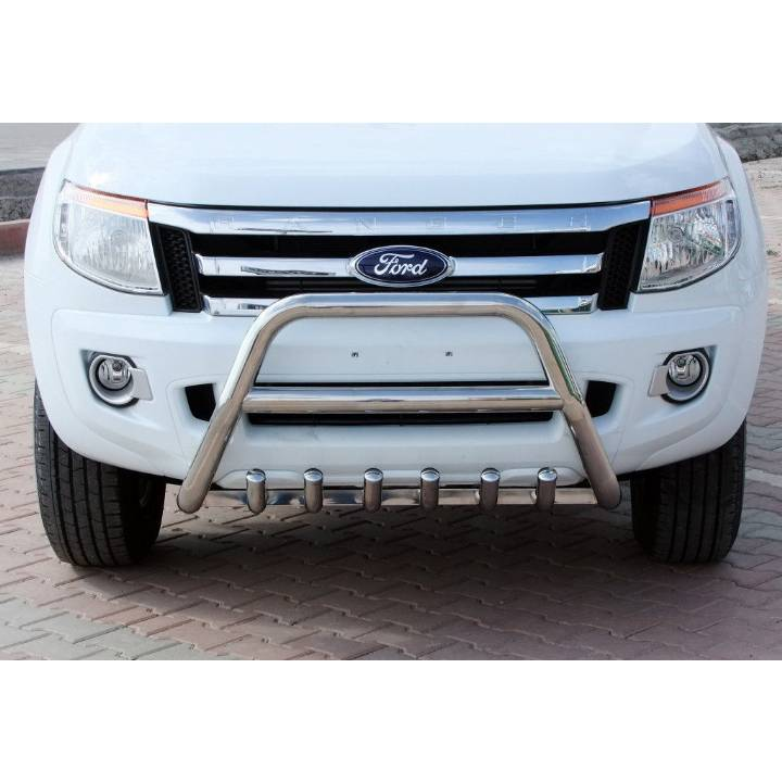 FORD RANGER T6 2012-2015 CHROME FRONT NUDGE/A BAR
