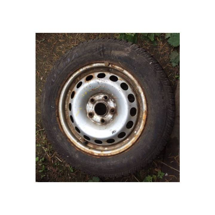 VOLKSWAGEN CADDY WHEEL AND TYRE 195/65R15