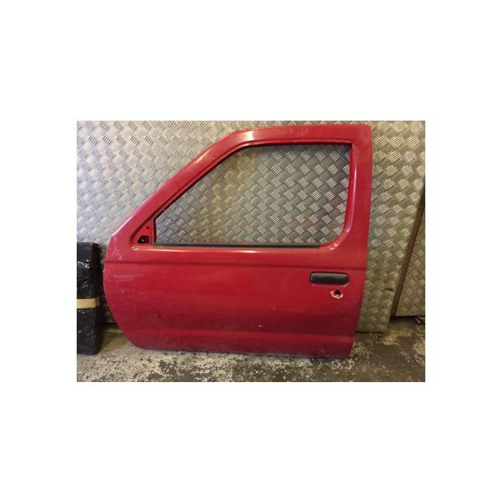NISSAN NAVARA D22 DOUBLE CAB PASSENGER LEFT FRONT DOOR IN RED