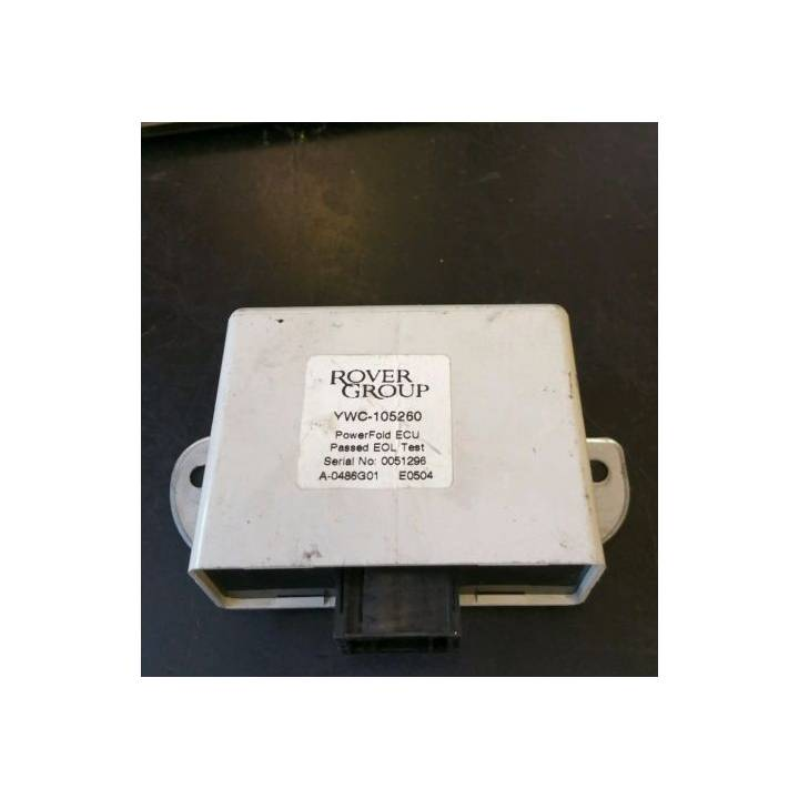 LAND ROVER DISCOVERY TD5 POWER FOLD WING MIRROR ECU YWC105260