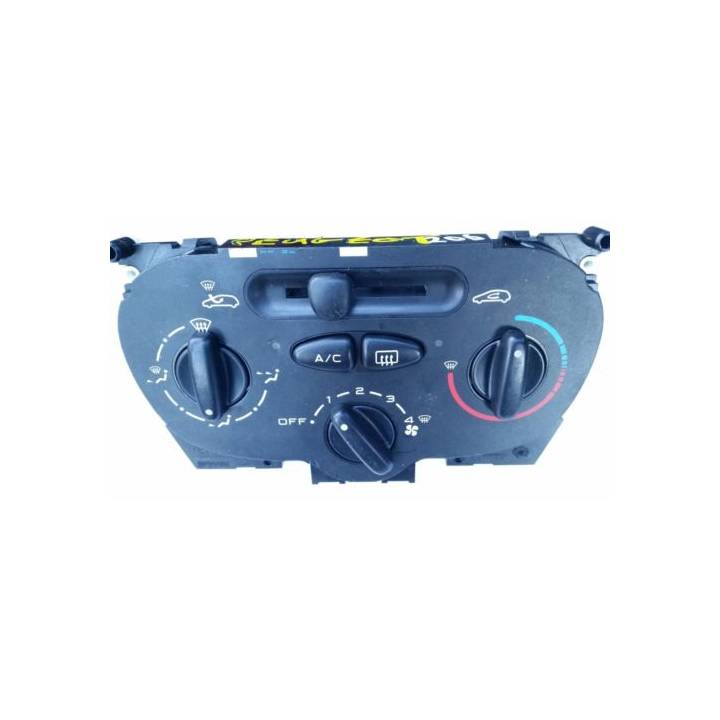 PEUGEOT 206 HEATER CONTROL PANEL WITH AIRCON 2007
