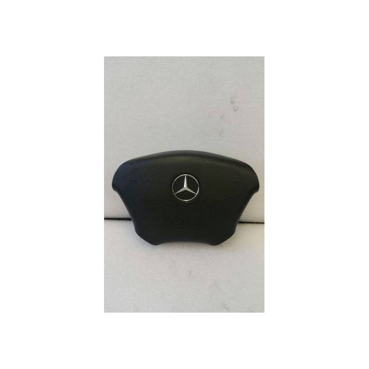 MERCEDES ML W163 BLACK DRIVERS AIRBAG 1634600298