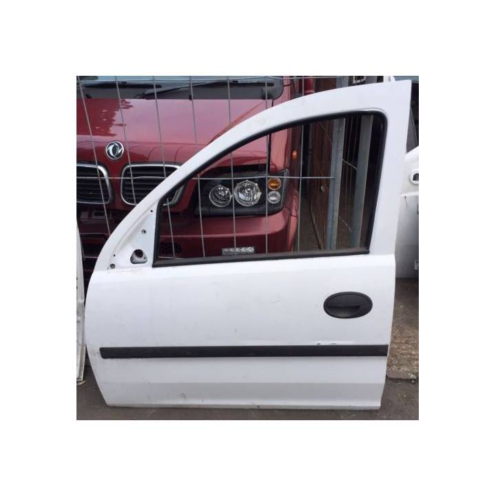 VAUXHALL COMBO 02-11 PASSENGER LEFT FRONT DOOR IN WHITE