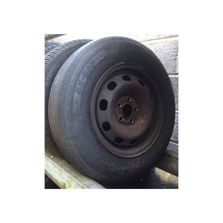 VW VOLKSWAGEN GOLF MK4 175/80R14 WHEEL AND TYRE