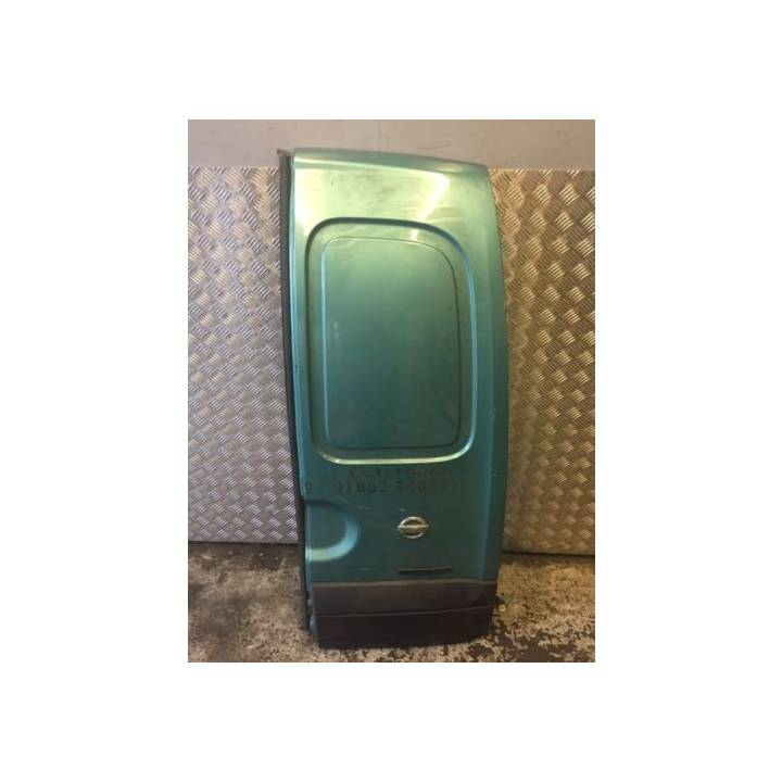 NISSAN KUBISTAR DRIVERS RIGHT REAR DOOR IN GREEN