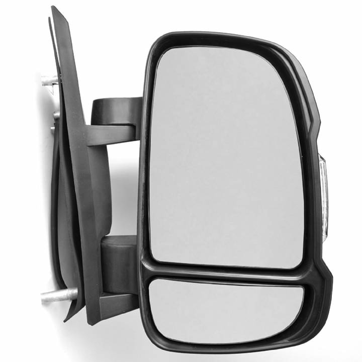 CITROEN RELAY DRIVERS SIDE ELECTRIC HEATED DOOR MIRROR WITH SENSOR SHORT ARM 2014 ONWARDS