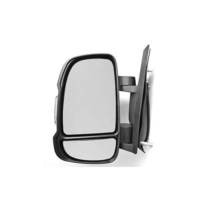 PEUGEOT BOXER DRIVERS SIDE ELECTRIC HEATED SHORT ARM DOOR MIRROR WITH SENSOR LHD