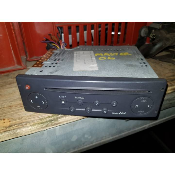 RENAULT MASTER MOVANO INTERSTAR CD RADIO WITHOUT CODE 8200002607 04-10