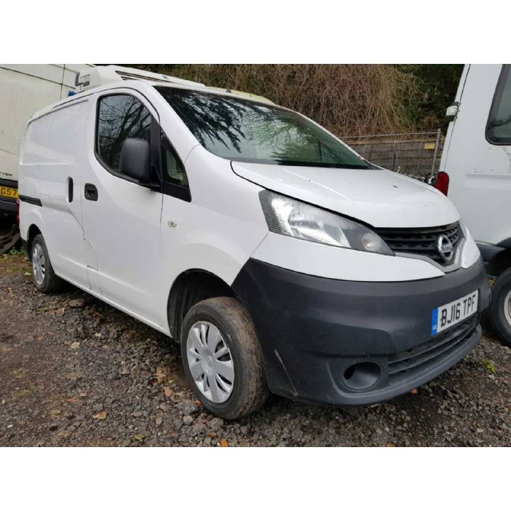 2016 NISSAN NV200 1.5 DCI ACENTA FRIDGE/CHILLER VAN DIESEL £2995