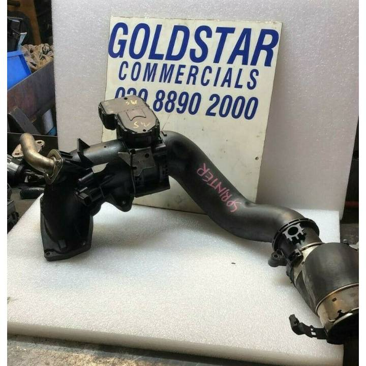 Mercedes Sprinter W906 2.2CDI Throttle Body and Pipework Euro 5 2010-2014 A6510900470