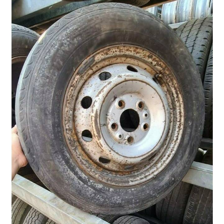 PEUGEOT BOXER FIAT DUCATO CITROEN RELAY 02-06 195/70R15C WHEEL AND TYRE