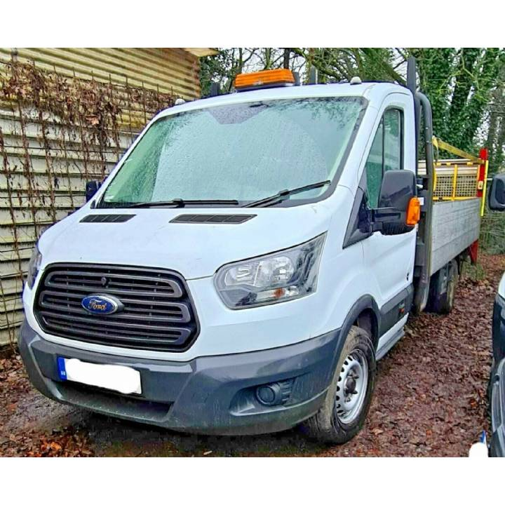2017 Ford Transit 350 L5 2.0 RWD Euro 6 14 FT Dropside Truck with Tail Lift £9995+VAT