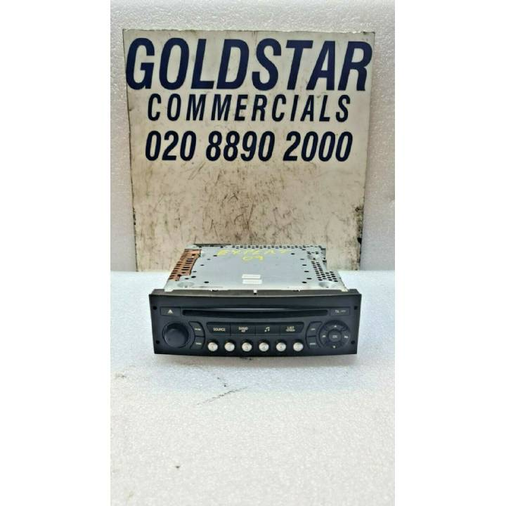 Citroen Berlingo MP3 CD PLAYER RD4 RADIO WITHOUT CODE 96643697 XT02